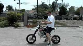 getlinkyoutube.com-SSR SR 160 TX PIT BIKE Review HIGH STYLE MOTORING - Demo Ride - FREE SHIPPING