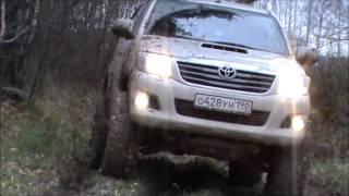 getlinkyoutube.com-UAZ Hunter, Ford Ranger, Toyota Land Cruiser 80, 100, Toyota Hilux