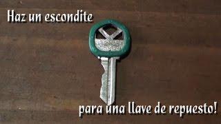 getlinkyoutube.com-Como hacer un escondite para una llave de repuesto