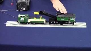 Programming & Operating Lionel TMCC Crane & Boom Cars w/ LEGACY_1