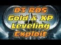 Diablo 3 Reaper of Souls Gold & XP Leveling Exploit from Raoha