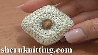 getlinkyoutube.com-Stuffed Square Button Crochet Tutorial 3 Part 1 of 2 Crochet Increase Stitches