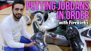 Air Jordan Guessing Game (Putting 1-14 in Order)
