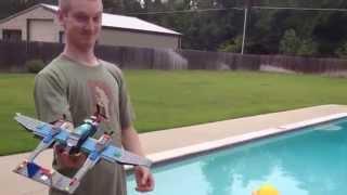 getlinkyoutube.com-Flight of the Lego Plane