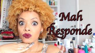 Mah Responde #7 | Críticas ao cabelo loiro, religião, influência...
