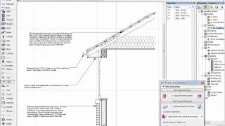 ArchiCAD Detailing: Eaves Detail