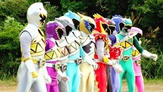 getlinkyoutube.com-Power Ranger Super Dino Charge | Batalla contra Badussa - Capitulo 18