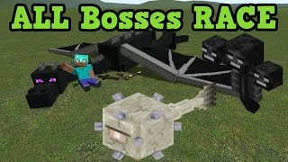 getlinkyoutube.com-Minecraft Xbox 360 Survival - ALL 3 Bosses  RACE