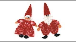 getlinkyoutube.com-Mr. & Mrs. Santa QUILLING
