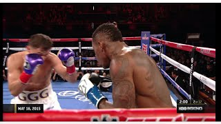 getlinkyoutube.com-Gennady Golovkin vs. Willie Monroe Jr. 2015 [Full Fight]