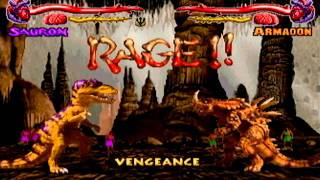 getlinkyoutube.com-Primal rage- Gamecube- Full game- Sauron