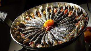 "getlinkyoutube.com-Sardines in olive oil. Recipe ""HD"""
