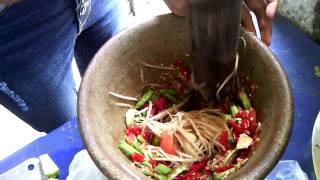 getlinkyoutube.com-ส้มตำปลาร้าโคตรแซป สูตรนารี คนอุดร