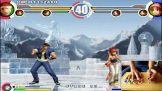 getlinkyoutube.com-The King of Fighters XI PC PCSX2 - Gameplay Demo HD - PushButton ArcadeStick
