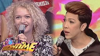 It's Showtime: Vice Ganda talks to a German lady