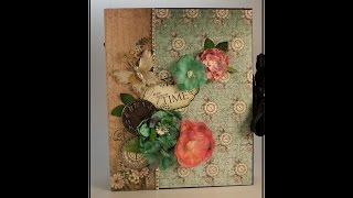 getlinkyoutube.com-Part 1 - Learn to Make a Mini Album - Designs by Shellie