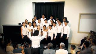Imperial Academy-Philippines Students Perform At Recitation and Music Night