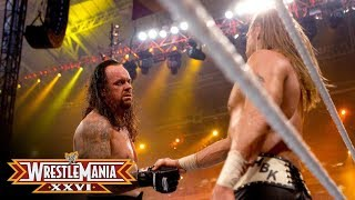 getlinkyoutube.com-WrestleMania XXVI: The Undertaker shows respect to Shawn Michaels