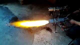 getlinkyoutube.com-ГОРЕЛКА НА ОТРАБОТКЕ ДЛЯ КОТЛОВ: Испытание горелок на отработанном масле мощность 60-80 кВт