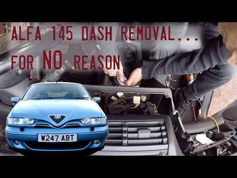 Alfa 145 dash out for blower motor..for no reason at all