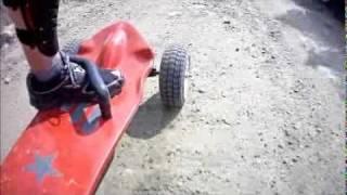 getlinkyoutube.com-Carving Mountain Troodos Cyprus Gas Powered Skateboard Longboard Mountain Board.wmv