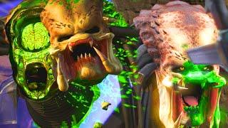 "getlinkyoutube.com-Mortal Kombat X: All Fatalities On ""PREDATOR"" - Mortal Kombat X Predator Fatality Gameplay"