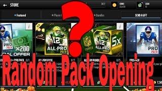 getlinkyoutube.com-Madden Mobile 16 !! Random Pack Opening !!
