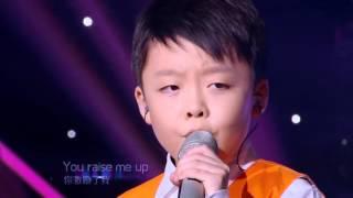 getlinkyoutube.com-Jeffrey Li ft Celine Tam《you raise me up》