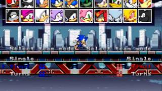 getlinkyoutube.com-Mugen - Sonic Speed Fighters 2 two matches