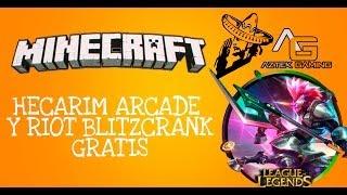 getlinkyoutube.com-ARCADE HECARIM Y RIOT BLITZCRANK GRATIS (off)