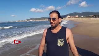 الذهاب الى البحر في طبرقة # Tabarka Tunisia width=