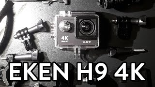 getlinkyoutube.com-EKEN H9 4K CAMERA | HELMET TEST (4K) - PART 1