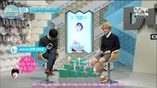 getlinkyoutube.com-[JHH][Vietsub]140502 Super Idol Chart RyeoWook calling Eunhyuk for Best Airport Fashion