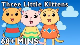 getlinkyoutube.com-Three Little Kittens and More | Nursery Rhymes by Mother Goose Club Playhouse!