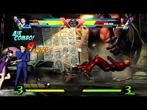 ULTIMATE MARVEL VS. CAPCOM 3 PV