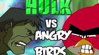 getlinkyoutube.com-Hulk vs Angry Birds