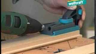 getlinkyoutube.com-For all cases - Joining wood with the wolfcraft Undercover Jig (GB)