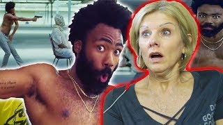 Mom REACTS to Childish Gambino - This Is America (Official Video) width=