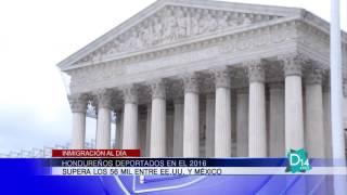 Superan los 56mil los Hondureños deportados en el 2016 entre México y EE UU