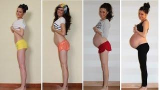 getlinkyoutube.com-9 meses de embarazo crece un sueño / Pregnancy stop motion