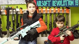 getlinkyoutube.com-Indoor Airsoft Battlefield with the best bros, Robert-Andre and William-Haik!