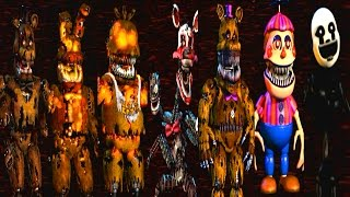 getlinkyoutube.com-Five Nights at Freddy's 4 All Animatronics