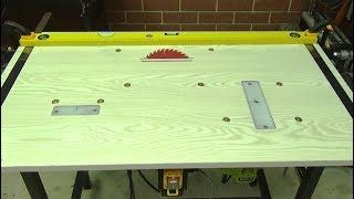 getlinkyoutube.com-Workbench. 3 in 1. Router, Jig saw, Circular saw. DIY. How to do workbench.