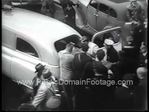 Shooting in Congress Washington D.C. Archival Newsreel PublicDomainFootage.com