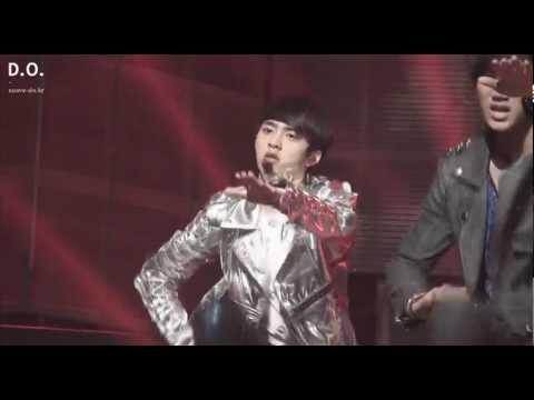 Fancam 120429 EXO-K Inkigayo - MAMA (D.O focus)