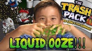 getlinkyoutube.com-TRASH PACK LIQUID OOZE - Series 3 Unboxing & Review
