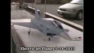getlinkyoutube.com-All Electric Remote Control Jet Planes 9-14-2013