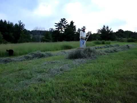 How to Make Hay with a Scythe