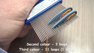getlinkyoutube.com-Quilling on a Comb