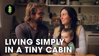 getlinkyoutube.com-Living Simply in a Tiny Off Grid Cabin
